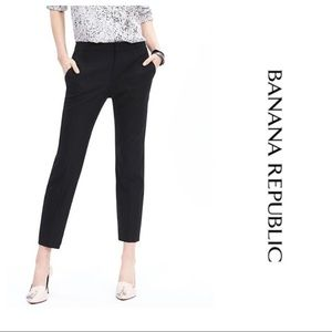 💐3/$50 Banana Republic Harper Crop Pant in Black